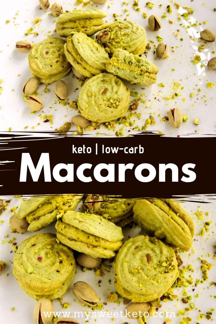 Delicate preparation or not, I didn't complicate much with keto low-carb macarons. Texture-wise, they're fine. Taste-wise, they are simply perfect. #ketomacarons