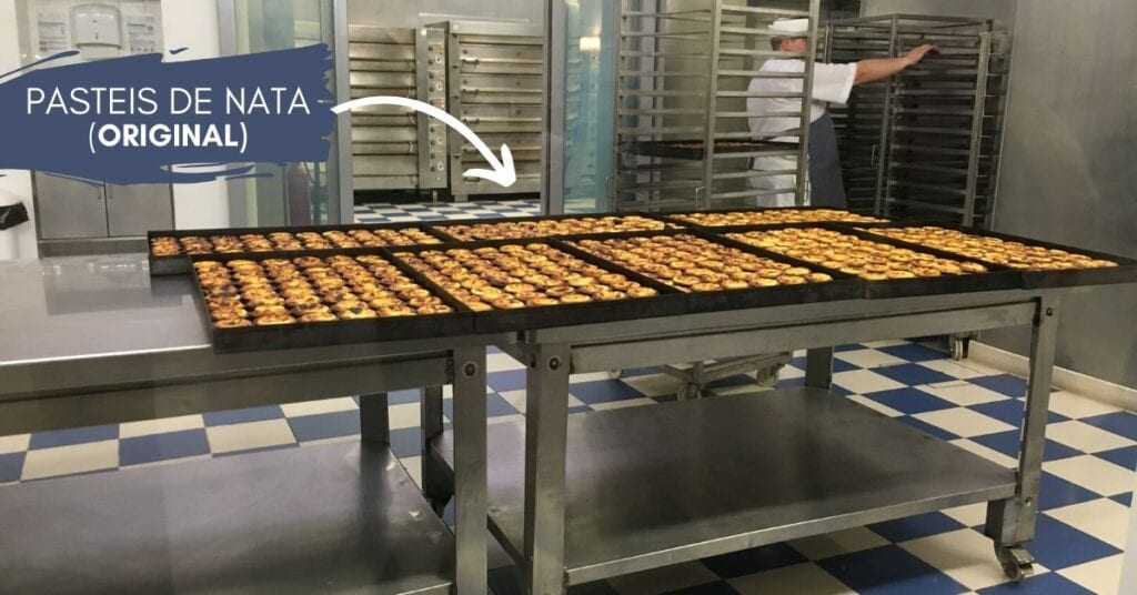 Pastel de nata is a Portuguese egg tart pastry dusted with cinnamon