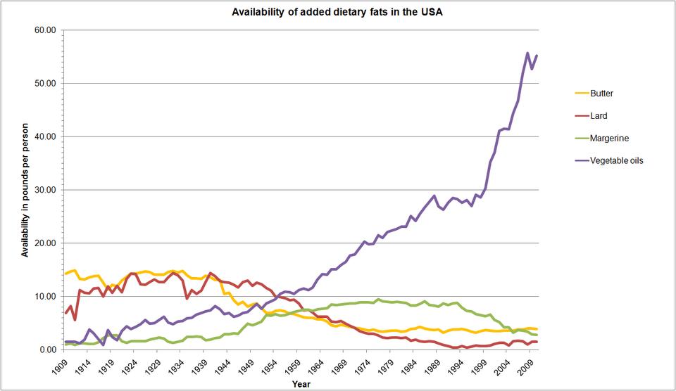 Fat consumption USA